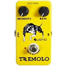 Joyo JF-09 Optical Tremolo Guitar Effects Pedal w/ True Bypass Vintage Amp Trem