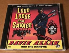 Davie Allan And The Arrows CD Loud Loose And Savage