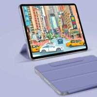 """UK For iPad Pro 11 12.9"""" 2020 Smart Magnetic Folio Leather Stand Case Cover"""