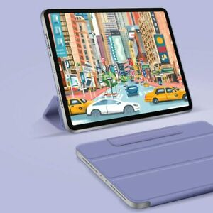 UK iPad Pro 11 2020, Magnetic Folio Leather Stand Case Cover magnetic attachment