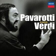 PAVAROTTI - PAVAROTTI SINGT VERDI (LIMITED DELUXE EDITION) 3 CD OPERA  NEU