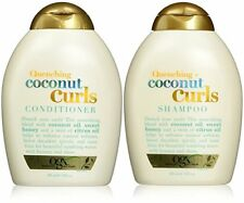 Organix Quenching Plus Coconut Curls Bundle, Shampoo & Conditioner, 13 Ounce