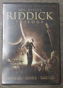 VIN DIESEL RIDDICK TRILOGY DVD ~123