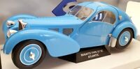 Solido 1/18 Scale Model Car S1802104 - Bugatti Type 57 SC Atlantic - Blue