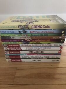 13 Roald Dahl Chapter Book Lot