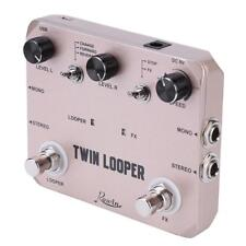 Rowin LTL-02 Twin Looper Record Electric Guitar Effect Pedal Loop True Bypass