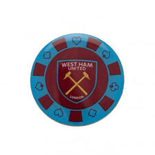 West Ham United F.C - Metal Poker Chip Badge - GIFT