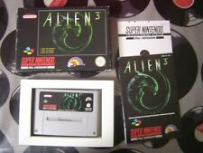 SNES Alien 3 (with box & manual) PAL