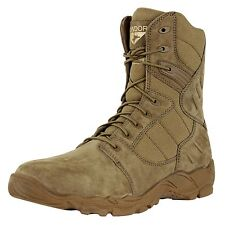 Condor Richards Zip Military Grain Cow Leather Combat Tactical Tan Work Boots