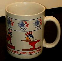 Vons Usa 1980 American Eagle Kitchen Coffee Cup Red White Blue