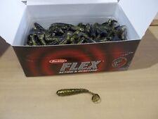 """Berkley Flex 2.5"""" Flex Rib Shad purple clear gold blck approx 125 ct package NIP"""