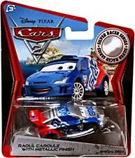 Cars 2 Silver Racer Series Raoul Caroule with Metallic Finish Diecast Car