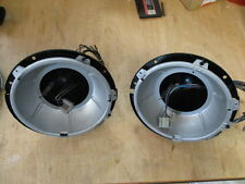 Lucas Headlamp Bowl Pair, MGA, MGB, Midget, Triumph TR, Healey Mini, Original