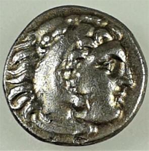 323-317 BC EF Silver Drachm of Philip III of Macedonian
