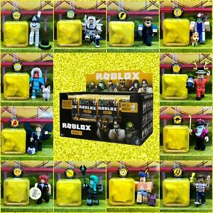 Roblox Celebrity Series 7 Gold Yellow Mystery Box Figures Toys NEW+Unused Codes!