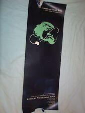 "Vintage The American Soviet Walk Original Poster in Russian & English 11"" X 32"""