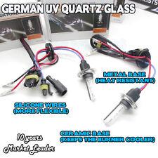 H7 55W 50W HID Xenon Bulbs Kit replacement 8000K 6000K 4300K 10,000K WHITE METAL
