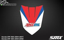 CRF 250 CRF450 front fender sticker decal graphics 2013-2016 Honda CR 2015 2014