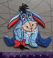 "Winnie the Pooh ""Eeyore"" Disney Cartoon Kid Embroidered Patch Sew Iron On"