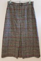 Vintage Calvin Klein Glen Plaid Women's Proffessional Skirt Size 10