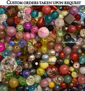 2 LBs. Mixed Glass specialty beads