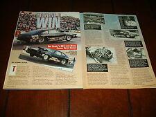 1977 FORD MUSTANG II RACE CAR ***ORIGINAL 1992 ARTICLE***