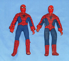 "vintage Mego WORLD'S GREATEST SUPER-HEROES WGSH 8"" SPIDER-MAN LOT x2"