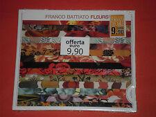 FRANCO BATTIATO- fleurs- CD -musicale-da collezione- NUOVO E SIGILLATO