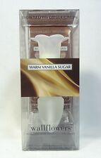 1 Bath Body Works WARM VANILLA SUGAR Wallflower / Fragrance Diffuser Set