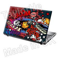 """15,6 """"TaylorHe Laptop Vinile Adesivo Decalcomania protezione copertura 353"""