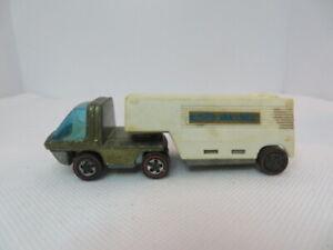 Hot Wheels 1969 Redline Heavyweights Truck And Trailer