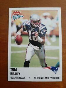 Tom Brady 2003 Fleer Platinum  NFL Card #138 New England Patriots