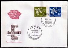 EUROPA CEPT FDC 1961 ALLEMAGNE 4 - BONN