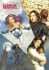 JESSICA JONES CAGE / Women of Marvel 2008 BASE Trading Card #27