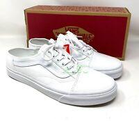 VANS Old Skool Low Top Mule White Men's Size Sneakers Sandal VN0A4P3YWC6