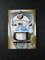 CAL PETERSEN RC 2018-19 The Cup Rookie Patch Auto #'D 13/24 KINGS 🔥🔥📈