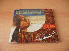 Single CD Dariah - Samba de Janeiro - Samba - Liebe Heiss wie Feuer - 1997