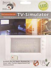 LED TV-Simulator Fake TV Simulateur de tv Fernseh Attrappe Einbruchschutz NEU