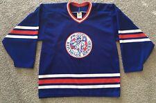 vtg KITCHENER RANGERS Medium Mens Hockey Jersey - Signed by Trevor Gallant #11