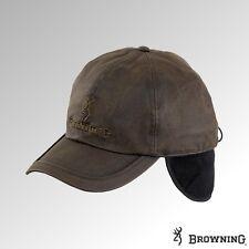 Browning Cap Winter Wax Fleece Lined Brown (308990)