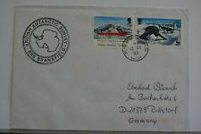 Great Britain Antarctic Halley Base 13/12/93 BRANSFIELD ship