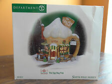 NEW Dept56 56737 The Egg Nog Pub Elf Land Bar Restaurant House Christmas Village