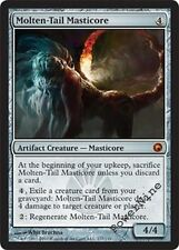 1 FOIL Molten-Tail Masticore - Scars of Mirrodin MtG Magic Artifact Mythic Rare