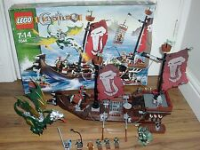 LEGO Castle Troll Warship Set (7048) boxed , complete with mannuals