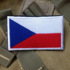 THE CZECH REPUBLIC FLAG CZ FLAG CZECHIA FLAG Česká republika FLAG 3D HOOK PATCH