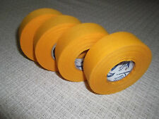 """Gold Hockey Tape 4 rolls 1""""x25yds. * First Quality *"""