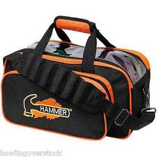 Hammer Black Orange 2 Ball Tote Bowling Bag FAST SHIPPING