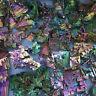 Rare Rainbow Titanium Bismuth Specimen Mineral Gemstone Crystal 50g