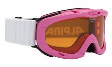 Alpina Ruby S Singleflex Hybrid/cat8 Rose Ski Goggles Kids