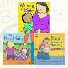 Rachel Fuller Collection New Baby 3 Book Set There's A House Inside My Mummy NEW